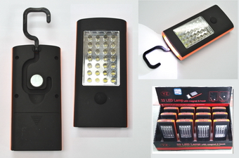 28+4 LED light, 12pcs/display box
