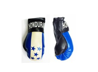 Honduras Flag Boxing Glove - 6 pair per bag