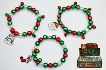 Christmas Bracelet, 1pcs/bag, 24pcs/big bag.