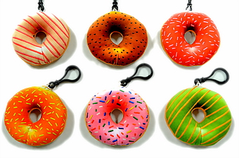 DONUT KEY CHAIN