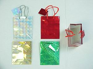 HOLOGRAM GIFT BAG-SMALL SIZE