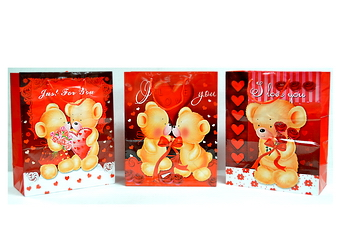 Assorted Bear Picture Gift Bag Medium Size: 10