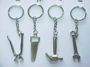 ASST TOOL KEY CHAINS