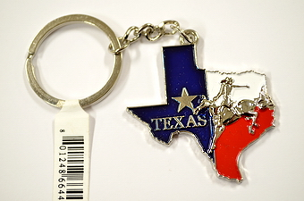Texas Rodeo Key Chain