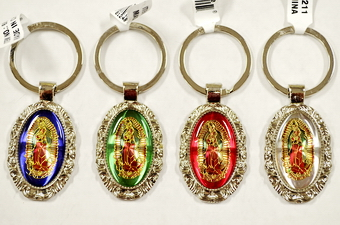 Guadalupe Picture Key Chain