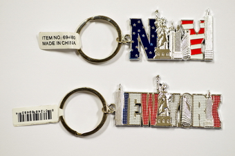 NYC Skyline Key Chain - 2 Styles