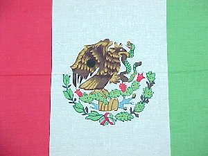 MEXICO FLAG BANDANNA