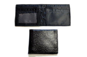 BIFOLD IMITATION LEATHER WALLET