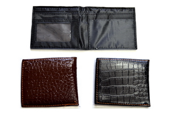 BIFOLD ALLIGATOR SKIN WALLET