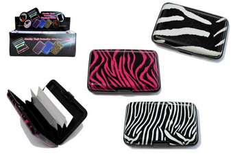 Animal Skin ID Case, 1 dz/display