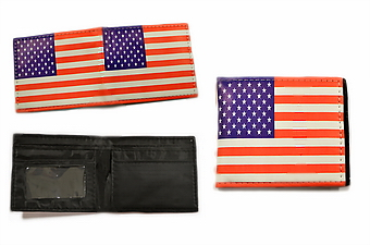 USA FLAG BI-FOLD WALLET