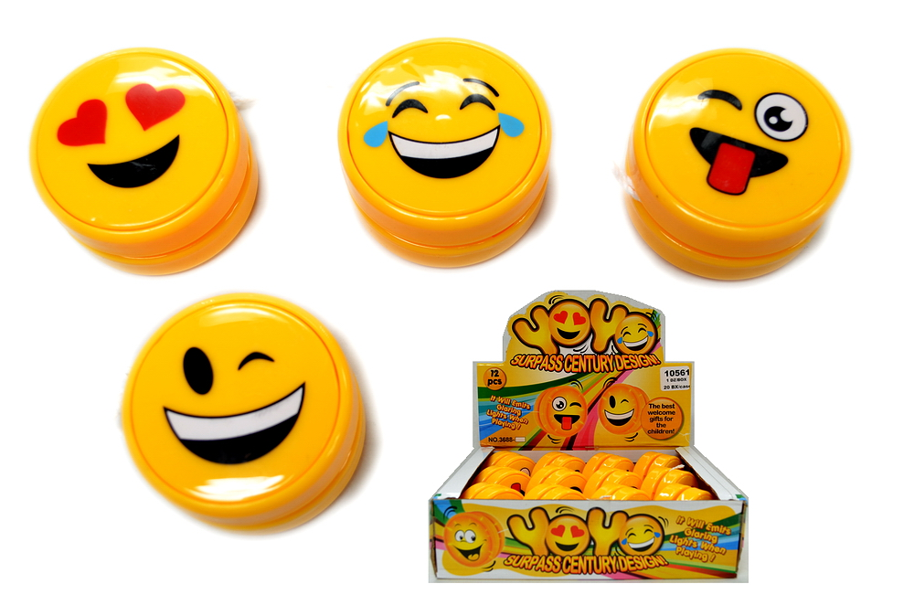 Smiley Face YoYo, 1 dz/display box