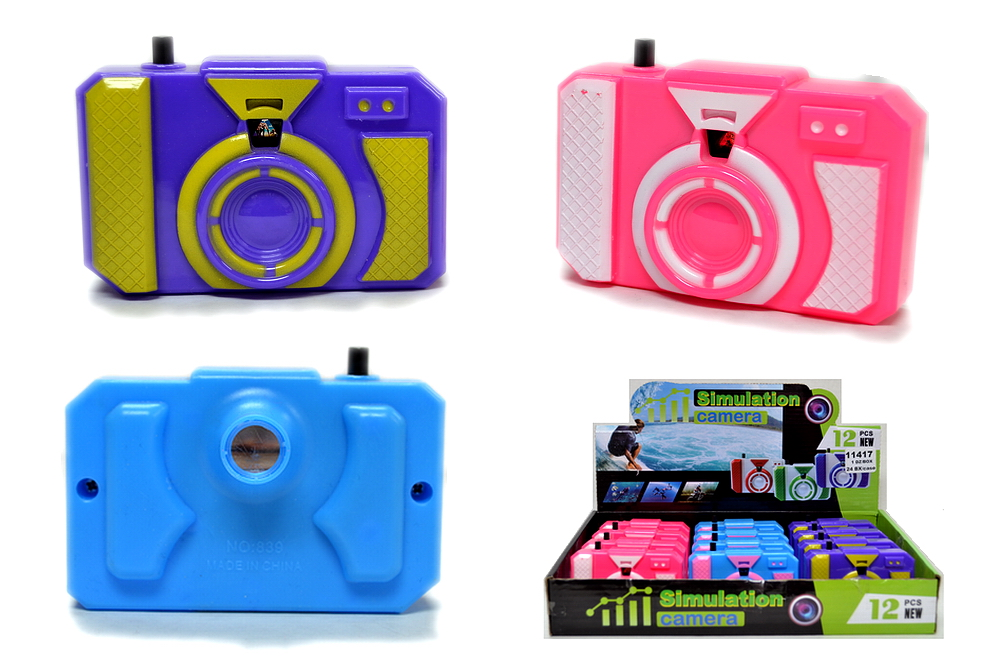 SIMULATION TOY CAMERA, 1 DZ DISPLAY BOX