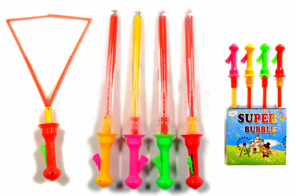 18 INCHES SUPER BUBBLE STICK, 16 PC DISPLAY BOX