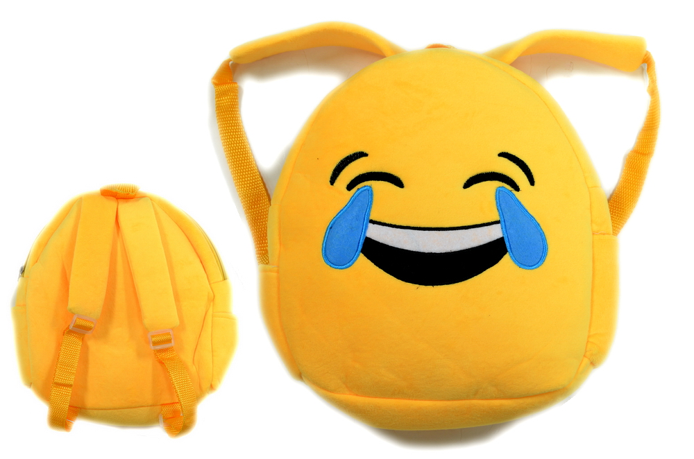 EMOJI BACKPACK - SMILEY WITH TEARS