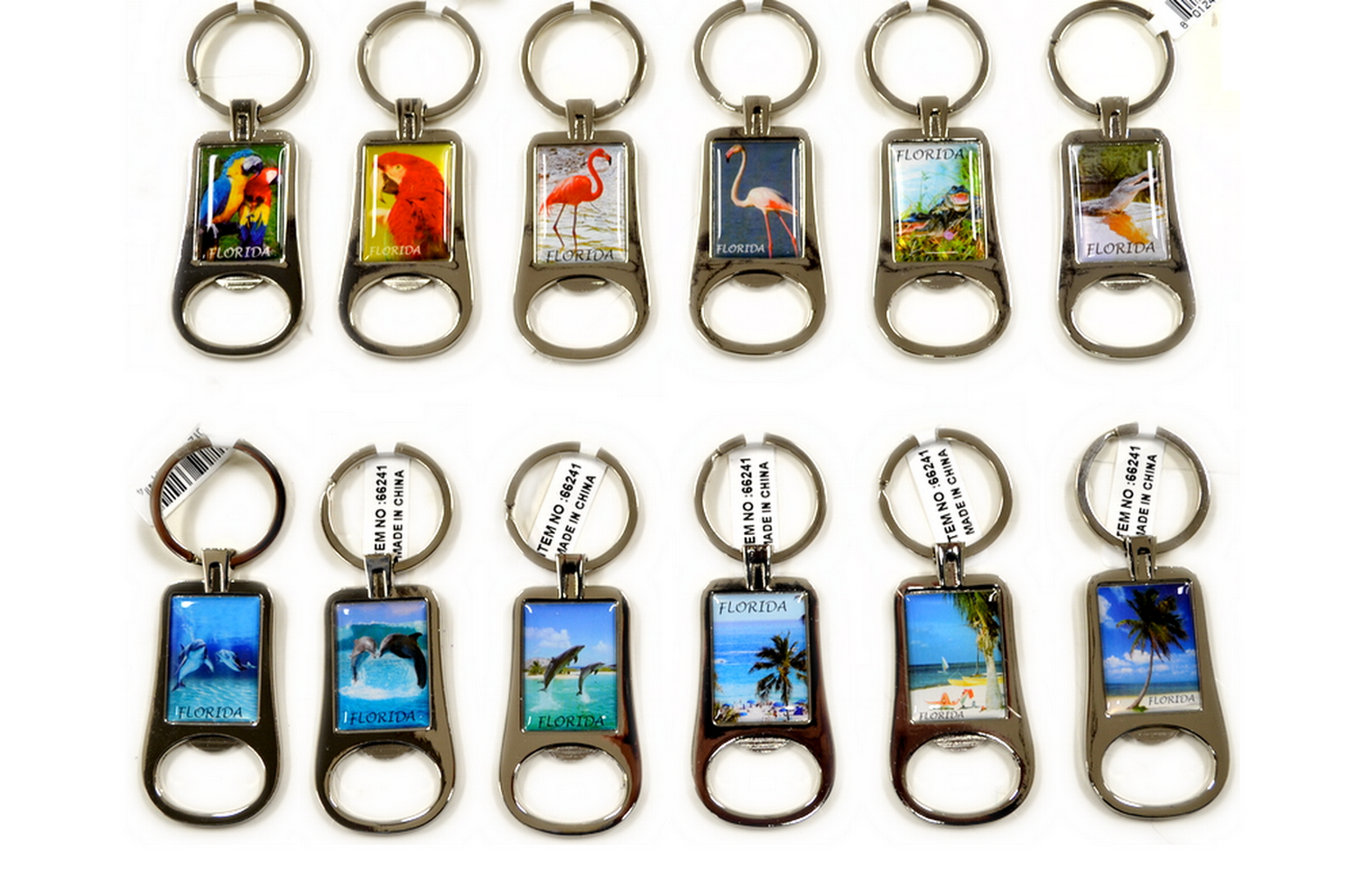 FLORIDA BOTTLE OPENER KEY CHAIN