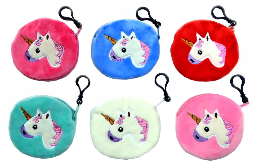 Unicorn Coin Purse - 4.33 inch