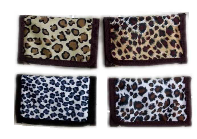 ASSORTED SAFARI PRINT WALLET