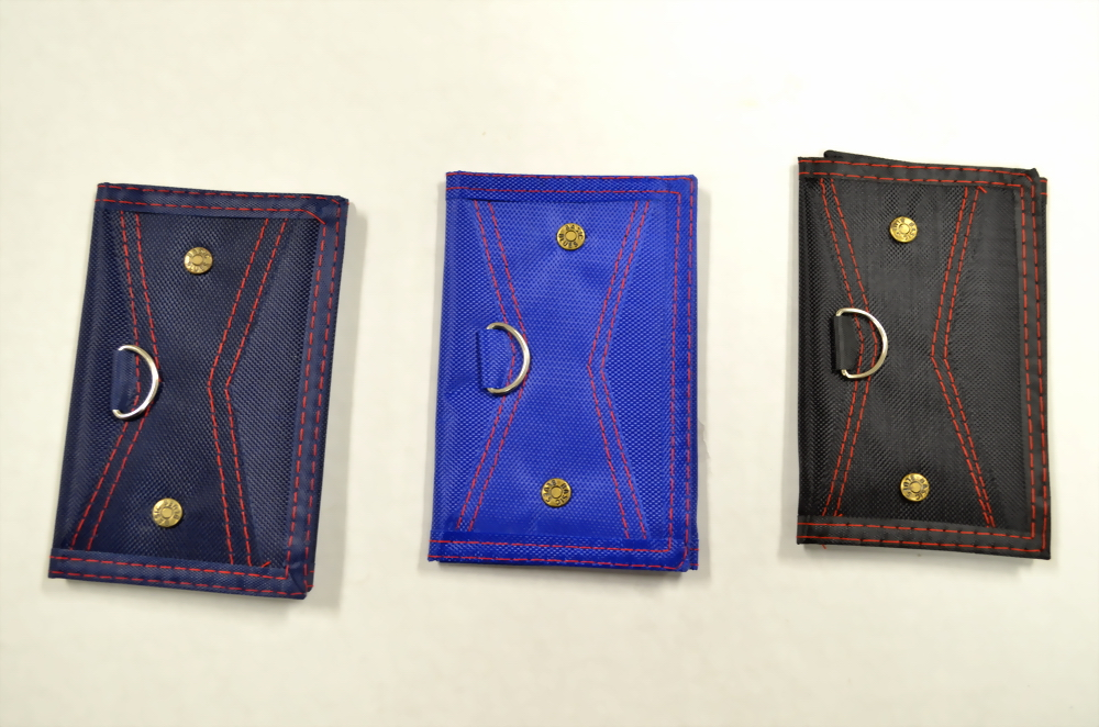 ASSORTED COLOR TRIFOLD WALLET